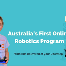 Online Robotics and Coding Holiday Program for Kids