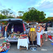 Carrara Markets Car Boot Sale