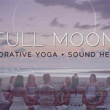 Full Moon : Restorative Yin Yoga + Sound Healing (February)