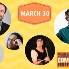 Gordon Southern, Chloe Black, Sadiq Samani & Comedy Fest guests