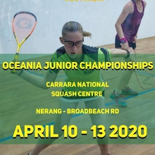 Oceania Junior Championships | April 10-13