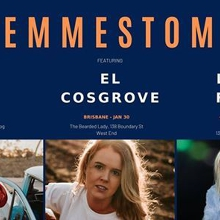 Femmestomp at Gold Coast W Billie Rose, El Cosgrove & Laura Frank