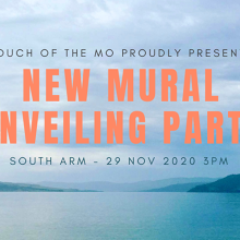 South Arm New Mural Unveiling Party