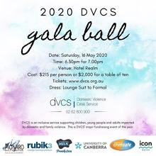 Cancelled: DVCS Gala Ball