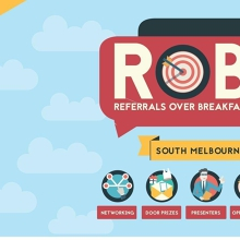 Meetup - South Melbourne - Referrals Over Breakfast (RoB)
