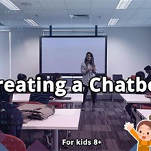 Introduction to AI and Chatbots #YoungCodersAU