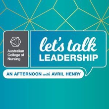 Let's Talk Leadership - An afternoon with Avril Henry