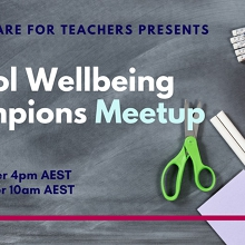 School Wellbeing Champions Virtual Meetup