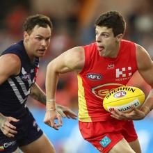 AFL Round 20: Gold Coast SUNS versus Fremantle