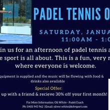 Padel Tennis Open Day