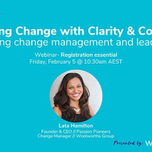 Navigating Change with Clarity & Confidence  with Lata Hamilton
