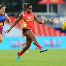 AFLW Round 7: Gold Coast SUNS versus Adelaide Crows
