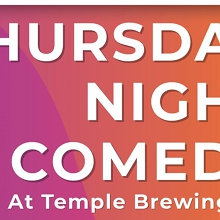 Thursday Night Comedy at Temple Brewing Co!