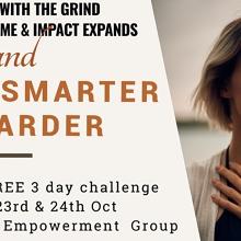 WORK SMARTER NOT HARDER - 3 DAY FACEBOOK CHALLENGE