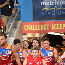 AFL Round 7: Gold Coast SUNS versus Adelaide Crows
