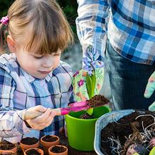 Kids Garden in a Bottle