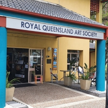 RQAS - Broadbeach Art Gallery  New October Display