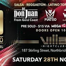XO Latino Party: The Next Level at Villa Nightclub