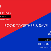 Book together & Save - Hobart - One-Day Workshop 6/05 and Advanced Design Thinking 07/05