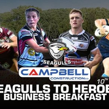 'Seagulls to Heroes' Business Breakfast and Season Launch