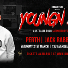 POSTPONED - YOUNGN LIPZ 2020 TOUR - PERTH