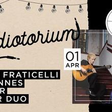 Audiotorium - Laura Fraticelli/Johannes Moller Guitar Duo