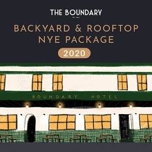 Backyard & Rooftop  NYE Package