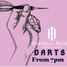 Weekly Darts at The Imperial Hotel