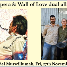 Tupenny Opera and Wall Of Love Dual Album Launch