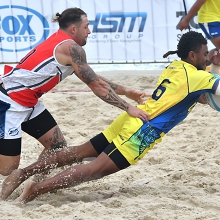 Beach Rugby Australia Festival 2020 at Kirra Beach