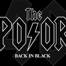 The Poor plays BACK IN BLACK