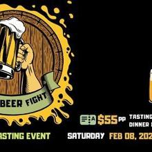The Beer Fight - 2 Craft Breweries. 4 Beers. 1 Winner