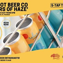 Masters of Haze Tap Takeover (Offshoot Beer Co)