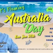 Australia Day On The Beach!