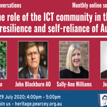 The Role of the ICT Community in the Future Resilience and Self-Reliance of Australia