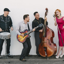 Hot Rod's For The Homeless Goes Rockabilly