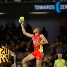 AFL Round 12: Gold Coast SUNS versus Hawthorn