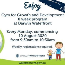 Gym for Growth and Development 8 week program