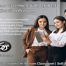 Dual LSS Green & Black Belt Certification Training in Canberra, ACT