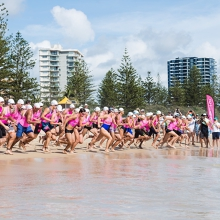 Slater + Gordon Burleigh Swim Run Australia Day Challenge 2021