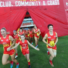 AFLW Round 2: Gold Coast SUNS versus Richmond