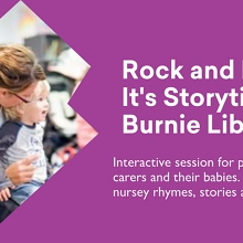 Rock and Rhyme It's  Storytime Bookings REQUIRED @ Burnie Library