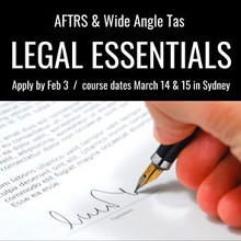 AFTRS Scholarship - Legal Essentials | Apply by Feb 3