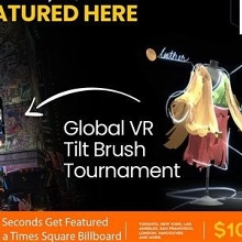 Meetup - 2020 Virtual Reality Art Fest & Tournament with VR Art & DJ's
