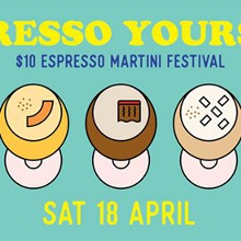 Espresso Yourself: $10 Espresso Martini Festival