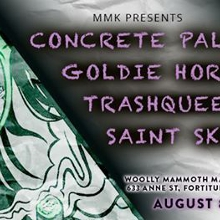 Concrete Palms Goldie Horn TrashQueen Saint Skirts