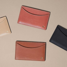 Leathercraft: Make A Card Wallet with Simétrie [January 2020]