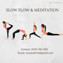 Meetup - Slow Flow Yoga and Meditation