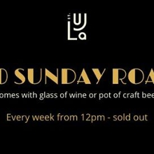 $20 Sunday Roast
