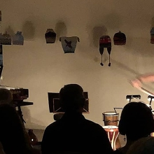Bach in the Dark - Cello and Percussion - Live Streaming